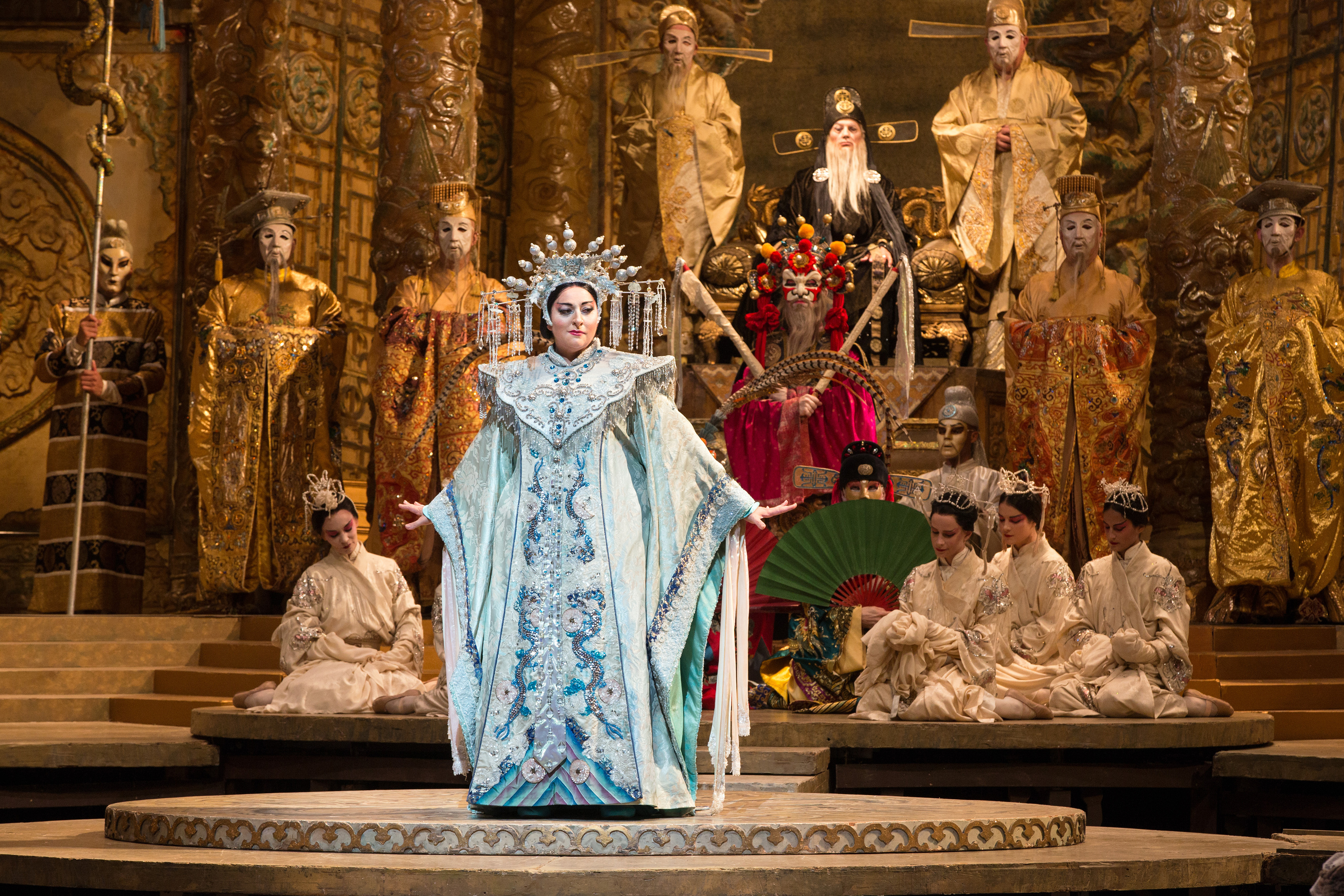 "Christine Goerke in the title role of Puccini's ""Turandot."" Photo: Marty Sohl / Met Opera"