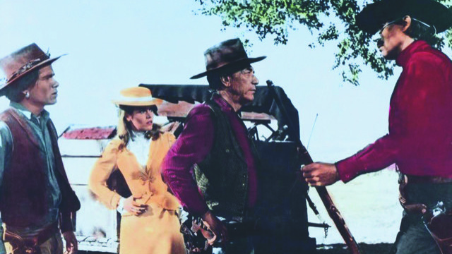 A scene from 'Cat Ballou""